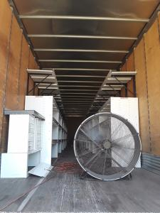 Trailer Shelving Install