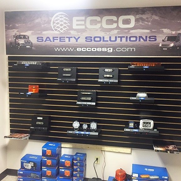 Visit our ECCO showroom, the world's largest manufacturer of commercial and emergency vehicle warning and safety products.   #ecco #eccosafetygroup #safetysolutions #worktruck #tow #towing #commercialvehichle #ledlights #backupcamera #camerasystems