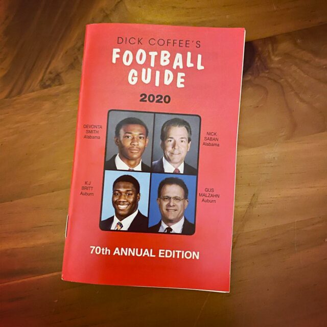 Proud supporter of the 70th annual Dick Coffee's Football Guide. Grab your copy today!