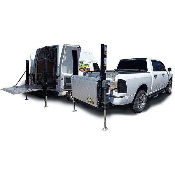 LiftGator Holiday Discount!  $200 off all manual units. $300 off all power units. Offer ends December 31, 2020.  Contact us to redeem.   #liftgator #liftgate #commercialvan #hitchmounted #trucks